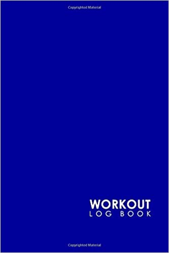 workout log book bodybuilding log book simple exercise log