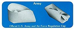 OvedcRay Official Us Army Air Force Regulation Uniform Costume Nurse Cap Hat White -