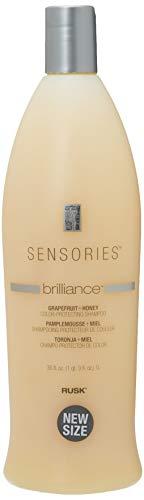 RUSK Sensories Brilliance Grapefruit and Honey Color Protecting Shampoo, 35 Oz