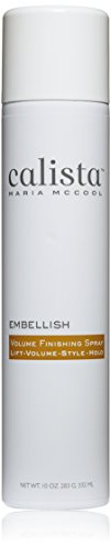 Calista Tools Embellish Volume Finishing Spray, 10 Ounce. (Hair Product Styling Tools)