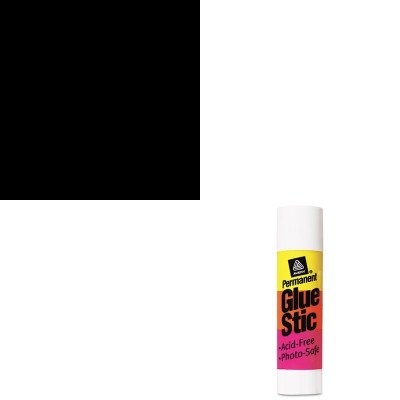 KITAVE00166AVE07887 - Value Kit - Marks-a-lot Permanent Marker (AVE07887) and Avery Permanent Glue Stics (AVE00166) - Ave00166 Permanent Glue