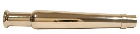 EMGO Chrome Bell Megaphone Muffler (Muffler Megaphone Style)