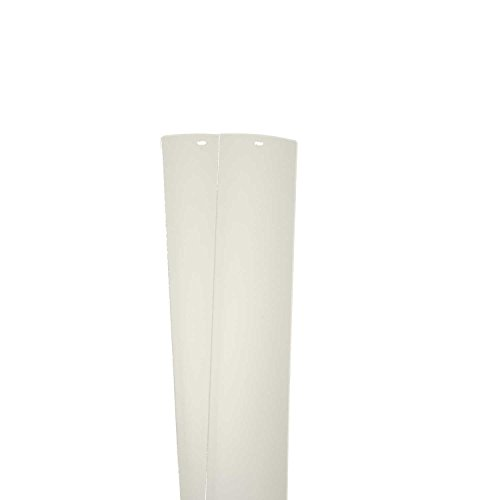 PVC Vertical Blind Replacement Slat 82 1/2 X 3 1/2 (2 PK, IVORY) (2 Blinds Vertical)