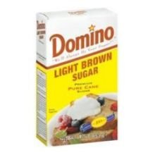 Sugar Shortbread Cookies Brown - Domino Light Brown Sugar, 25 Pound Bag - 1 each.