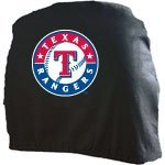 MLB Texas Rangers Head Rest Covers, 2-Pack