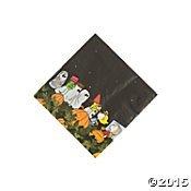 Peanuts Halloween Napkins Beverage 16 Count Paper Party Napkins]()