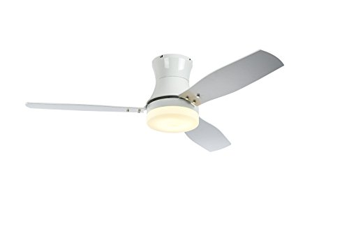 52'' Ceiling Fan, 3 Speed Remote Control Timing Function Super noiseless 3 Blade (White) by WillanFS