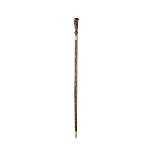 ZSMPY Crutches, Old Handrail, Non-Slip, Solid Wood Camping, Single Head, Abduction