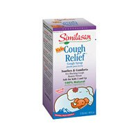 Similasan Kids Cough Relief Syrup, 4 Ounce -- 6 per case.