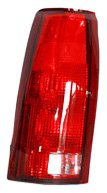 01 Tail Light Assembly - TYC 11-1914-01 Chevrolet/GMC Driver Side Replacement Tail Light Assembly without Connector