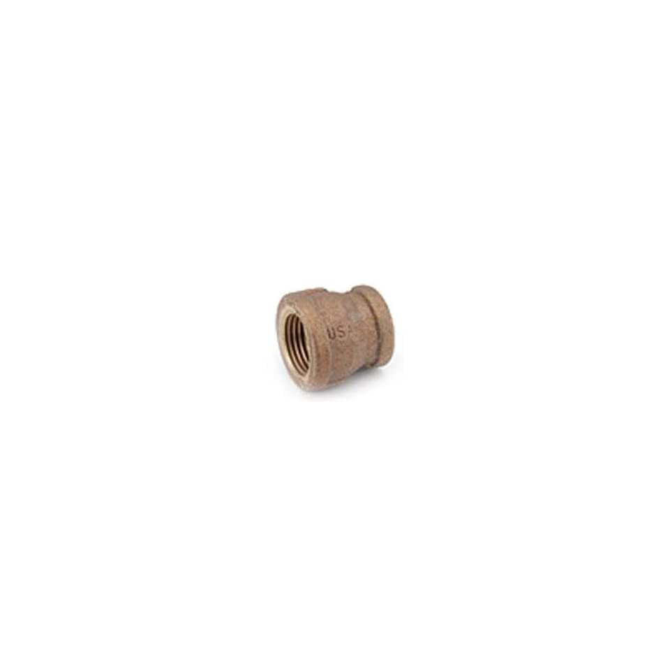 Anderson Metal Corp 38719 1206 3/4 X 3/8 Brass Pipe Fitting