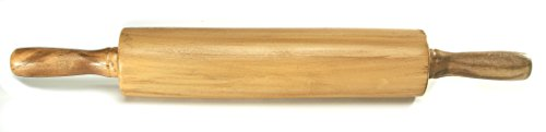 Professional Foam Rubber Wooden Rolling Pin Prop by NewRuleFX by NewRuleFX (Image #1)