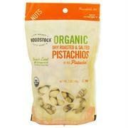Woodstock Pistachios Roasted Salted Organic, 7 oz