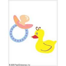 Uptown Baby Color Transfer Iron-Ons-Duck And Carriage