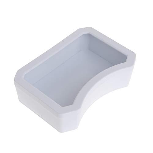 - Onpiece Reptile Feeder Water Food Feeding Drinking Bowl Reptile Dish Feeder Tool (Large, White)