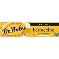 DeBoles Organic Artichoke Fettuccini Pasta, 8 Ounce - 12 per case.