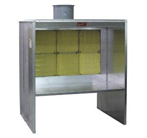 Paasche 6' Bench Style Spray Booth - FABSF-6-T3