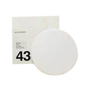 GE Healthcare 1443-110 Grade 43 Ash Less Filter Paper for Inorganic Analysis, Circle, 110 mm Diameter (Pack of 100) by GE