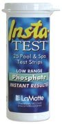LaMotte Insta-Test Low Range Pool & Spa Phospate Test Strips 25 Count ()