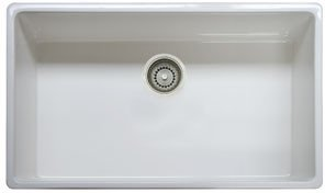 Franke Linen Finish Sinks : ... Bowl Apron Front Kitchen Sink, Linen - Single Bowl Sinks - Amazon.com