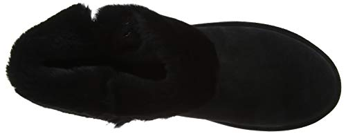Uma schwarz Stivali Schwarz 091 Da Neve Donna Ricosta RFPq7vw47