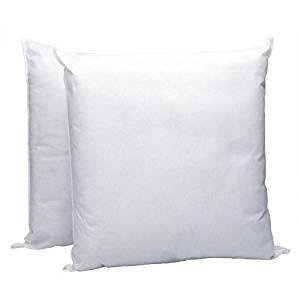 IZO All Supply Square Sham Stuffer Hypo-Allergenic Poly Pillow Form Insert, 16