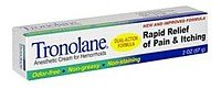 Tronolane Anesthetic Cream for Hemorrhoids, Dual-Action Formula, 2 Ounce, Health Care Stuffs