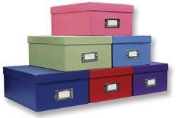 Charming Bulk Buy: Pioneer Photo Storage Box 4.5u0026quot;X8u0026quot;X11.5u0026quot; Assorted