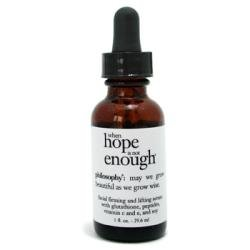 1 oz When Hope is Not Enough Firming & Lifting Serum by Philosophy