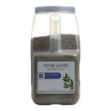 McCormick Thyme Leaves - 27.5 oz. container, 3 per case by McCormick