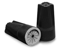 King Innovation 61235 DryConn Outdoor Irrigation Wire Connector 20/Bag, Black/Gray