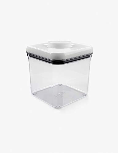 OXO Good Grips POP Container – Airtight Food Storage – 2.4 Qt for Sugar and (Clean Air Package)
