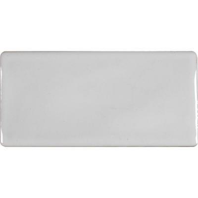 MS International Whisper White 3 in. x 6 in. Handcrafted Glazed Porcelain Wall Tile (1 sq. ft. / - Handcrafted Glazed Porcelain