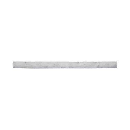 Moulding Tile (75021 Carrara Dome Moulding Tile, Marble, 11.875
