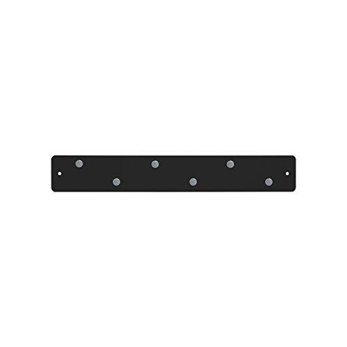 Mini Magnetic Strip (Three By Three Seattle Mini Magnetic Strip Bulletin Board, Black)