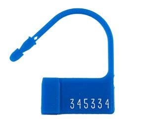 TydenBrooks Security Products, PP-2 Padlock Seal, Blue, 5000 Count