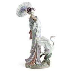 Lladro Porcelain Figurine Japanese -