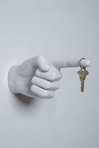 Interior Illusions Plus One Finger Pointing Hand Decor, 9