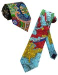 HALEIND Avatar: The Last Airbender Necktie Skinny Ties / New Novelty Necktie