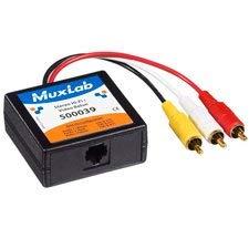 MuxLab 500039 Composite Video & Stereo Audio Balun ()