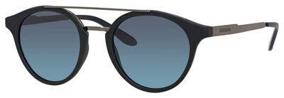 Carrera 123/S Sunglasses Black Dark Ruthenium/Gray Gradient Turquoise