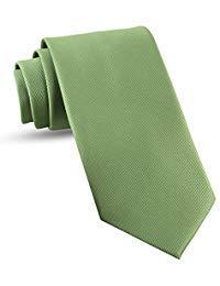 - Handmade Sage Green Ties For Men Skinny Woven Slim Tie Mens Ties : Thin Necktie, Solid Color Neckties 2.5