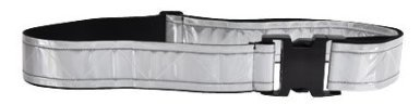 Army Certified PT BELTS - HEAVY DUTY VINYL - Reflective - Choose Color (White)