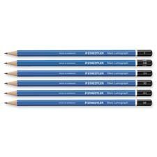 Staedtler Mars Lumograph Writing, Drawing, Sketching Pencil (Box of 12) (5H)