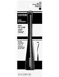 Covergirl Get In Line Liquid Eyeliner, #320 Major Matte Black (Pack of 2)