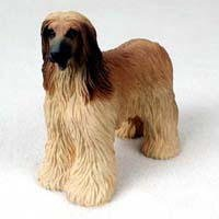 Afghan Hound Figurine