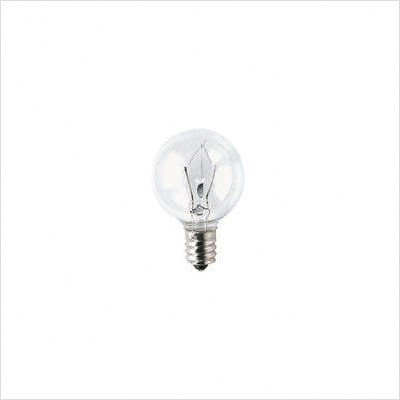Bulbrite 40W 120V Clear Krypton G11 Globe Decorative Bulb, E12 - Globe Light Krypton Bulb Decorative