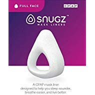 (Snugz Mask Liners: Machine Washable, One-Size-Fits-Most Full Face CPAP Mask Liners, Pack of 2 Lasts 90)