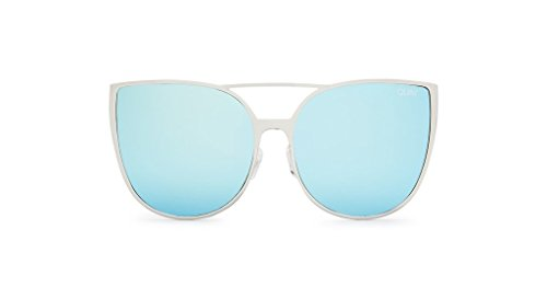 Quay Sorority Princess Sunglasses (Silver, - Sorority Sunglasses