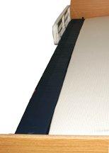 Mattress Extenders - Medline MDT23GAP7662 Foam Mattress Extenders, 76X6X2